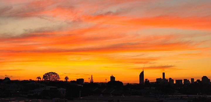 Coorparoo Sunset